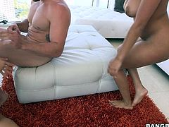 Katt and Alexa love to have fun when it comes to sex. They like to mix it up and do it with just one guy. They parade their asses on the floor and show the guy what they've got. Watch the both of them go all over the floor and then up to the man. They suck his dick and make sure he is ready for them.