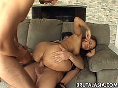 Double penetration for hardcore porn slut Annie Cruz