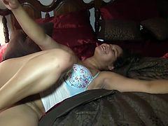 19yr creo lady queen pussy playing freak