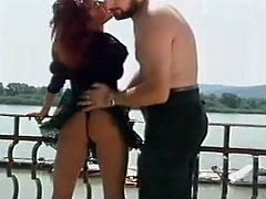 Classic vintage sluts from Europe having fun time with men