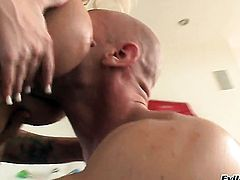 Johnny Sins gives incredibly sexy Angel Vains mouth a try in oral action