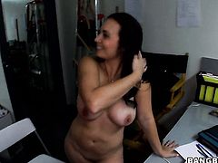 Sex hungry senorita tart Holly West gets her sexy warm hands ruthlessly fucked