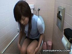 Office Ladies Getting Into Toilet Masturbation