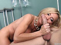 Amber Lynn with huge hooters gets her love box fucked by Johnny Sins for your viewing pleasure