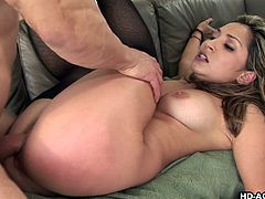 hot asian spreads her pussy for her man