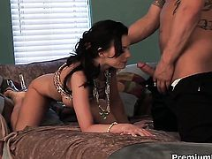 Brandi Edwards had her back porch pounded a thousand times but wants some more