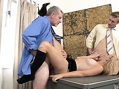 Enchanting tramp Brittany Angel B is in heat in steamy oral action with hot guy