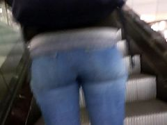 Sexy tight candid jeans ass - 12