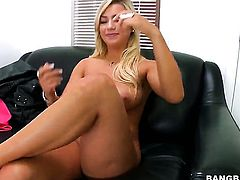 Cameron Dee on the casting couch