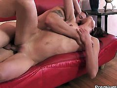 Katie Angel and a lucky guy enjoy oral sex they will never forget