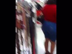 PHAT BOOTY MILF IN THE SUPERMARKET!!