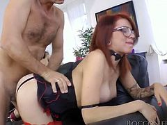Briella Bounce and Kara Price are fucked by hot tempered Rocco Siffredi