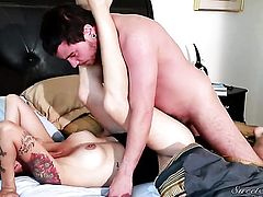 Dana Vespoli has a great desire for face fucking and Dane Cross knows it