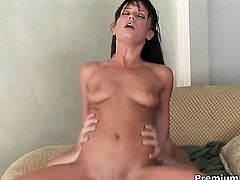 Holly Wellin has dick-hungry wet spot and takes guys sausage