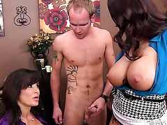 Sonny Hicks loves pretty Lisa Ann  Ava AddamsS moist muff pie and bangs her as hard as possible