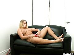 Casting couch action for Katie Banks