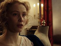 Sarah Gadon and Malin Buska - The Girl King