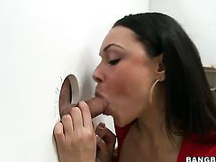 Bethany Benz is doing a glory hole