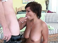 Reina knows no limits when it comes to fucking with hot guy in interracial sex action
