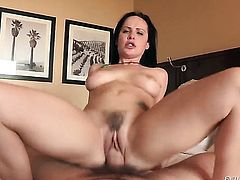 Katie St. Ives is one oral slut who gives Manuel Ferraras beefy schlong a try