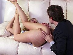 The combination of my pussy eating and fingering, make Alektra so incredibly wet and horny. She was in ecstasy and she returned the favor by giving me a spectacular blowjob. She knows how to use her lips to make me cum.