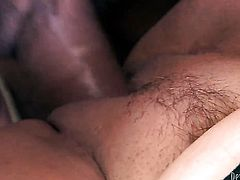 Jay Huntington explores the depth of incredibly hot Dana Hayess throat with his love torpedo