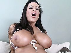 Shameless kitty Lisa Ann wants anal sex desperately and gets it from Xander Corvus