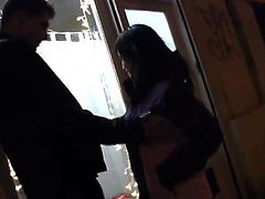 Nice black haired Linda Comes To Her Boyfriend's House Ti Have Some crazy xxx