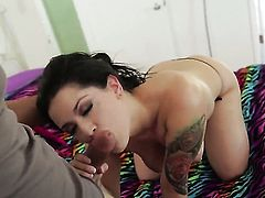 Katrina Jade cant wait to be take cumshot on her eager face
