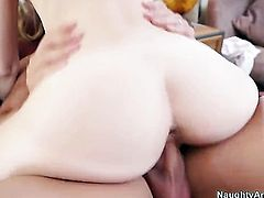 Avril Hall finds herself getting humped by Johnny Castle