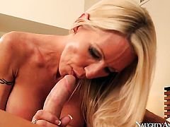 Emma Starr with big melons and clean bush has fire in her eyes as she gets her love box used hard an
