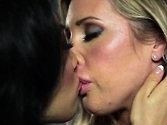 Asa Akira and Samantha Saint spend their sexual energy together