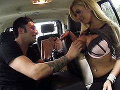 Blow job in a car