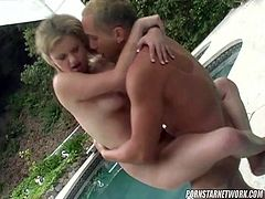 Petite blonde Alex Devine gets fucked in all positions