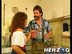 Dirty 80s Heidi has got laid by her Sensuous doctor