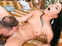 Teen Honey Demon loves to suck and cant say No to hot guy