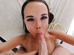 Dillion Harper has fire in her eyes as she gets her love hole nailed good and hard by horny man