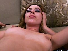 With tiny tities is an oral slut who knows what to do with Keiran Lees sturdy meat stick
