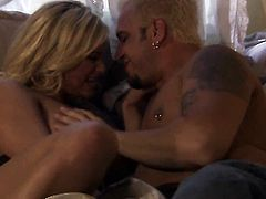 Shyla Stylez is in heaven blowing dudes cum loaded worm