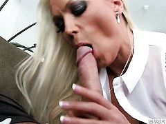Keiran Lee gets his always hard meat stick used by Gorgeously sexy seductress