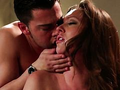 Maddy OReilly gets her mouth attacked by dudes thick hard love wand