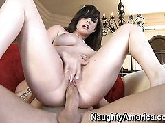 Jennifer White screams from ednless orgasms after taking Billy Glides hard fuck stick in her wet spo