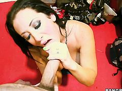 Brunette Jayden Jaymes with phat booty loves dudes rock hard ram rod thrusting back and forth in the love box