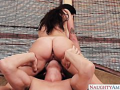 Karlee Grey loves the way Bruce Venture stuffs her fuck hole