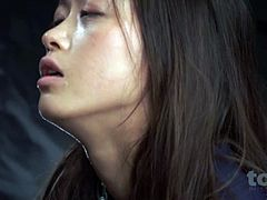 Asian teen rough deepthroat