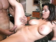Brunette chachita Sienna West and her hard dicked fuck buddy enjoy sex too much to stop