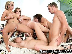 Michael Vegas makes Julia Ann scream and shout with his erect rod in her twat