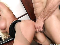 Ramon has a nice time fucking Nikita Von James with huge hooters