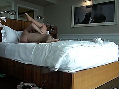 Klaudia Kelly gets down on her knees to be mouth fucked by Manuel Ferrara before she gets fucked in her booty