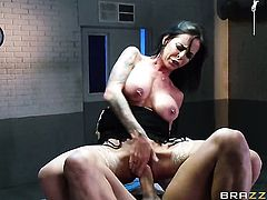 Brandy Aniston with massive tits gets banged silly by fuck hungry Xander Corvus